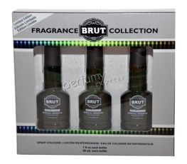 Brut Cologne Special Reserve, BRUT Green Collection 3x30 ml