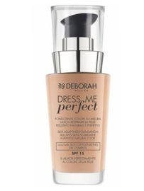 Deborah Dress Me Perfect  podkład 30 ml, 01 Fair