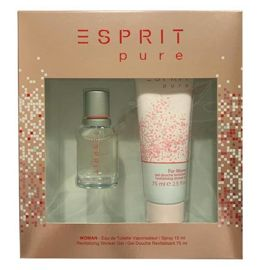 Esprit Pure for Women zestaw (15 ml EDT & 75 ml SG)