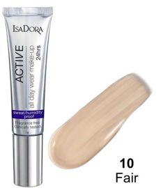 IsaDora Długotrwały Podkład Active 24h All day Make-UP nr. 10 Fair, 35 ml.