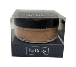 IsaDora Mineral Foundation Powder podkład mineralny 06 Medium Biscuit 8g
