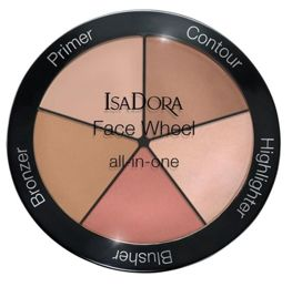 IsaDora Paleta do modelowania twarzy 5 w 1 - Face Wheel all-in-one, 18 g.