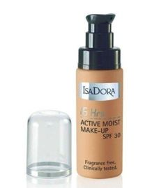 IsaDora Podkład 16 Hrs Active Moist 32 Cream Beige 30ml