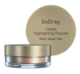 IsaDora Puder Sypki Rozświetlający Loose Highlighting Powder 50 Golden Glow - Golden Edition 8 g