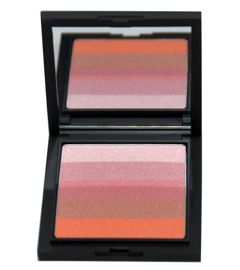 Make Up Factory Diamond Stripes Rozświetlacz Metallic Rose nr 40, 9,5g