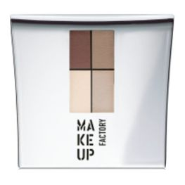 Make Up Factory Eye Colors Zestaw Cieni Quattro Nude Meets Brown nr 11, 48g