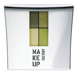 Make Up Factory Eye Colors Zestaw Cieni Quattro Olive Garden nr 23, 48g