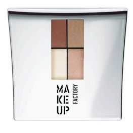 Make Up Factory Eye Colors Zestaw Cieni Quattro nr 09, 48g