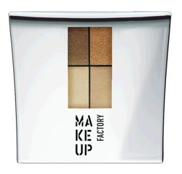 Make Up Factory Eye Colors Zestaw Cieni Quattro nr 18, 4,8g