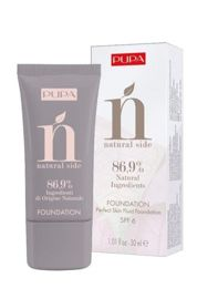 Pupa NATURAL SIDE FOUNDATION Podkład do twarzy nr 010, 30 ml.
