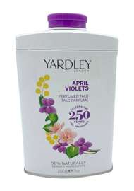 Yardley London April Violets perfumowany talc do ciała 200 g