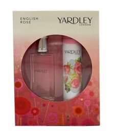 Yardley London English Rose komplet (50 ml EDT & 75 ml DEO Spray)