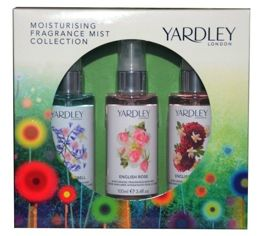 Yardley London Fragrance Mist Collection 3x100 ml