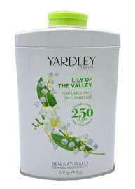Yardley London Lily of the Valley perfumowany talk do ciała 200 g edition 2015