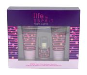 Life by Esprit Night Lights Woman zestaw (15 ml EDT & 75 ml SG & 75 ml BL)