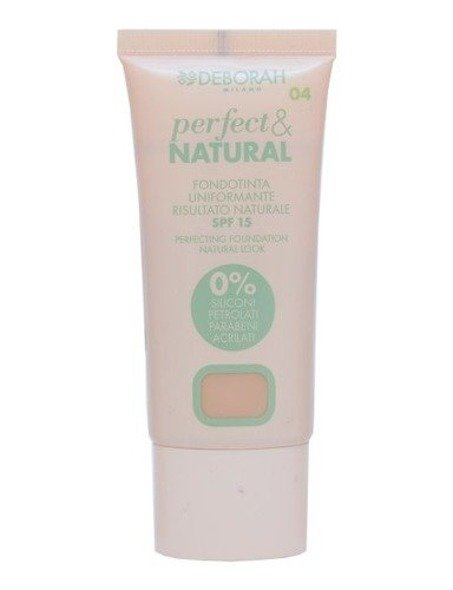 Deborah Perfect & Natural podkład do twarzy 04 Sand 30 ml